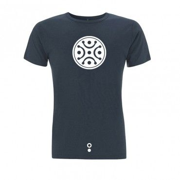 Camiseta surf Kanaluha. Azul denim
