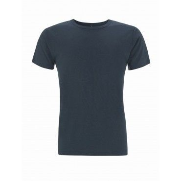 Camiseta sostenible azul denim