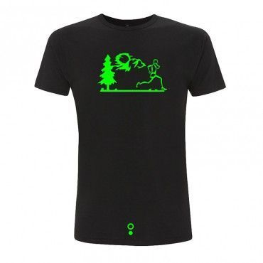 Camiseta ecológica running MOUNTAIN