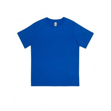 Camiseta Básica Junior Azul...