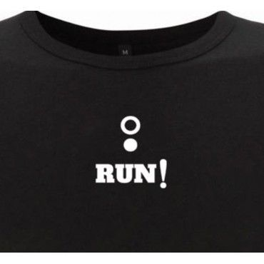 Camiseta chico running RUN!