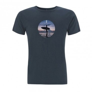Camiseta surf Nyanja Azul Denim