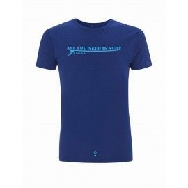Ropa ecológica. Camiseta All You Need is Surf